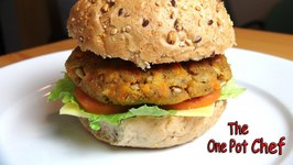 Easy Veggie Burgers  One Pot Chef