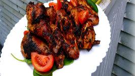Grilled Chicken Marinated In Fresh Homemade Salsa