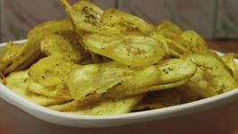 Raw Banana Chips - Crispy and Light