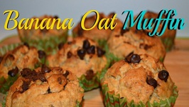 Kid's Oats Banana Healthy Muffin