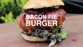 Bacon Pie Burger