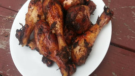Jamaican Jerk Chicken Legs - Easy Jerk Chicken Recipe On The Weber Grill