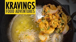 Pakoras - Gluten free Onion & Potato crispy fritters