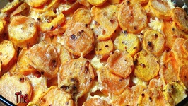 Savory Sweet Potato Gratin