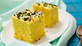Khaman Dhokla Using Curd In Hindi -Besan Dhokla Without ENO- Gujarati Snack