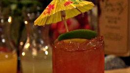 Tiki Swizzle Cocktail