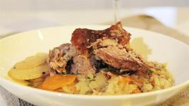 How To Make Slow Cooked Lamb Shoulder With Root Vegetables