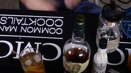 Bolasses Sasses, A Doug Cocktail Creation
