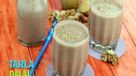 Chickoo Choco Soya Milkshake (Protein Rich Recipe for Kids)