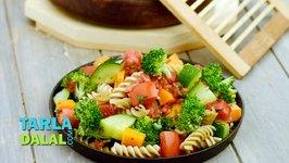 Pasta and Vegetable Salad (Zero Oil Healthy Salad)