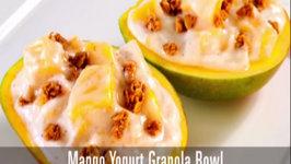 Mango Yogurt Bowls