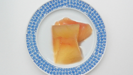 Rosy Watermelon Rind Pickle