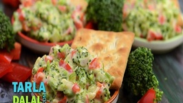 Broccoli and Red Capsicum Dip