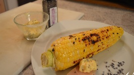 How To Grill Corn-on-the-Cob with Lavender Compound Butter