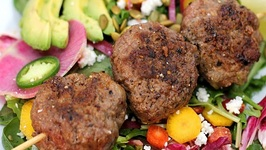 Mini-burger Salad - Gluten Free Dinner