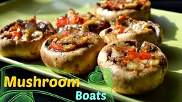 Stuffed Mushroom Boats No Bread No Potato Appetizer
