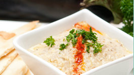 How to Make Roasted Eggplant and Baba Ghanouj