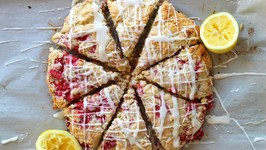 Breakfast Raspberry Lemon Scones