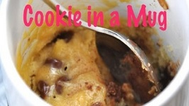 How To Make A Microwave Chocolate Chip Cookie In A Cup Or Mug