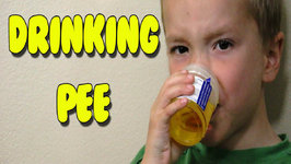 Kids Taste Test Extreme Sour Liquid Candy Pee - Kids Candy Review w/ Eli and Liam