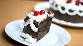 Black Forest Cake My Birthday Special