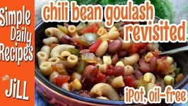 Chili Bean-Pasta Goulash in the Instant Pot - Revisited