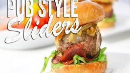 Pub Style Sliders Recipe (Game Day Bites) Bits and Pieces - Season 2, Ep. 8