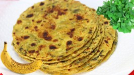 Kela Methi Thepla  Over-ripe Bananas Fenugreek Flat Bread Video