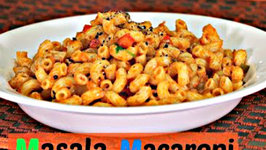 Masala Macaroni - Quick Breakfast or Evening Snack Recipe