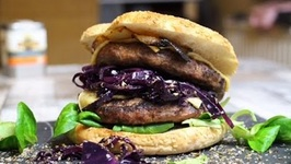 DOUBLE Winter Burger - WILD BOAR BURGER