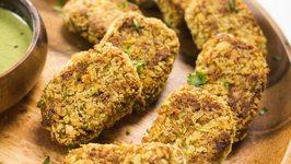 Lauki Kababs Recipe  Nutritious Jain Super Tasty Baked Veg Kebabs  Easy Healthy Snacks