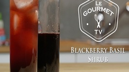 Blackberry Basil Shrub Recipe