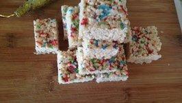 Festive Rice Crispy Squares Holiday Treats
