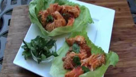 Extra Spicy Buffalo Chicken Wraps with Shredded Chicken