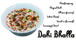 Dahi Bhalla - Dahi Vada - Chaats