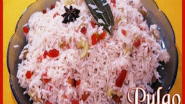 Vegetable Pulao or Pulav  Indian Rice Variety  Indian Vegetarian