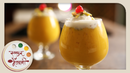 Mango Mastani  Quick Homemade Cold Beverage / Milkshake  Recipe by Archana in Marathi