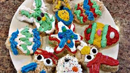 Rice Krispy Treats Easter Bunny Cutouts