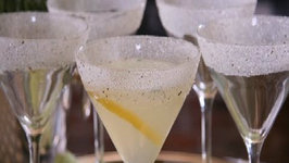 Tuscan Rosemary Lemon Drop