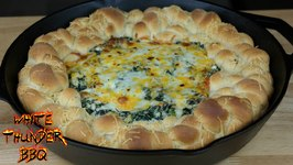 Pull Apart Spinach Dip Bread