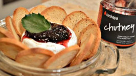 How to Bake Brie with Haskapa Chutney