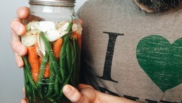 Lacto-Fermentation- Make Fermented Veggies At Home
