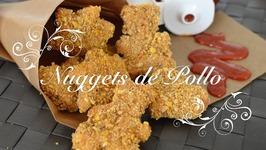 Nuggets de Pollo con Rebozado Crujiente  Como hacer Nuggets de Pollo  Nuggets de Pollo Thermomix