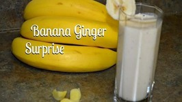 Banana and Ginger Surprise Smoothie