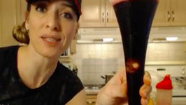 How to Make Haskap Citrus Cyclops Cocktails