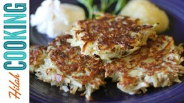 How To Make Potato Latkes - Potato Pancake