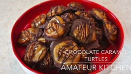How to Make Chocolate Caramel Turtles