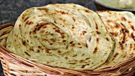 Kerala Parotta - Layered South Indian Parotta - No Egg and No Trans Fat