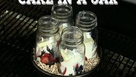 Cake in a Jar Dessert