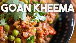 Goan Kheema - Spicy Ground Beef Or Mutton Prepared In A Goan Style